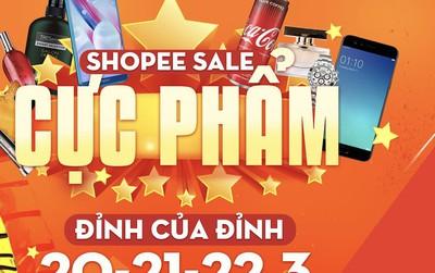 Hàng loạt thương hiệu lớn đồng loạt khuyến mãi hàng trăm cực phẩm trên Shopee