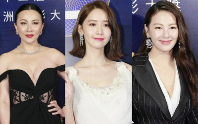 """Thảm đỏ hot nhất hôm nay: Yoona """"đàn áp"""" mỹ nhân Cbiz bằng vẻ đẹp nữ thần, Lưu Gia Linh U55 khoe vòng một căng đầy"""