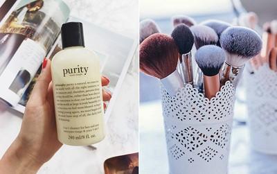 Chuyên gia makeup của Kim Kardashian bật mí bí kíp giặt cọ trang điểm từ sữa rửa mặt