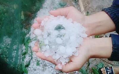 Đêm nay và sáng mai miền Bắc sẽ có mưa, đề phòng hiện tượng mưa đá nguy hiểm