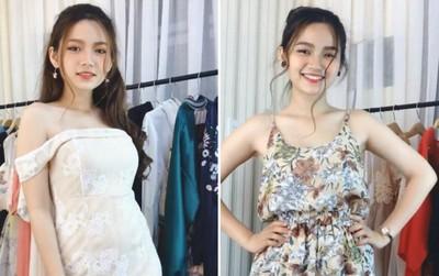 """Chỉ diện thử quần áo để bán hàng online, cô gái được dân mạng """"đòi info"""" vì quá xinh!"""