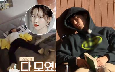 """Yoona & Park Bo Gum khi ngủ: Người bỏ luôn """"hình tượng"""", người vẫn đẹp như truyện tranh"""