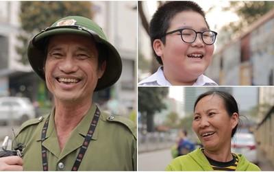 """Họ nói gì khi được hỏi về hạnh phúc: Người lao động nghèo không hạnh phúc vì tiền, trẻ con chỉ cần """"ba mẹ không cãi nhau"""""""