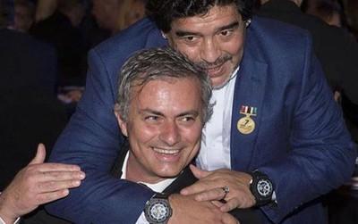 """HLV Maradona chỉ đạo Infantino chống lại """"liên minh"""" Usain Bolt và Mourinho"""