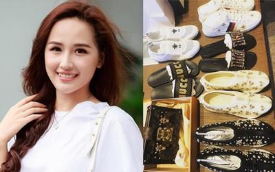 Có ai chào hè hoành tráng như Mai Phương Thúy: chi cả trăm triệu để sắm 2 đôi dép lê cùng loạt giày túi