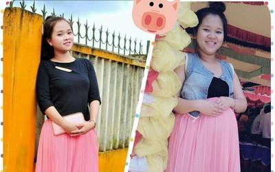 """Chị em chia sẻ ảnh thời con gái và khi có bầu: """"Nhìn chính mình trong gương cũng chẳng nhận ra nữa"""""""