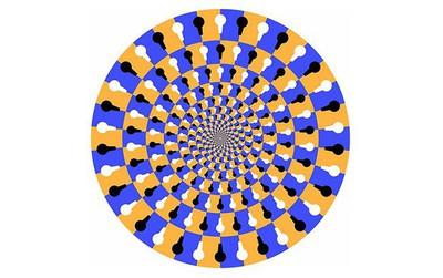 Bạn thấy vòng tròn ảo giác xoay theo chiều nào, điều đó cho biết bạn thuộc team não trái hay não phải