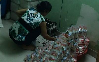 Kinh hoàng phát hiện gần 1 tấn bột ngọt giả nhãn hiệu Ajnomoto chuẩn bị tung ra thị trường ngày cận Tết