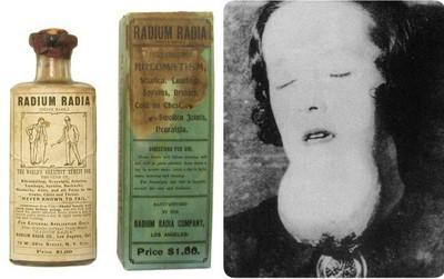"""Trước khi biết về sự nguy hiểm của Radium, con người đã từng dùng nó """"vô tư"""" thế này đây"""