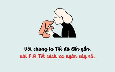 Nỗi lòng F.A: Người yêu chứ có phải bánh chưng đâu mà Tết nhất định phải có!