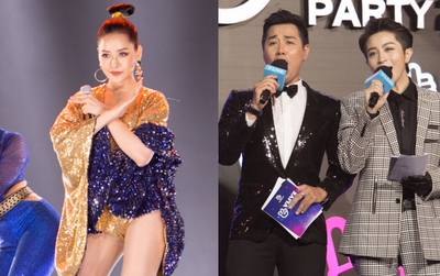 Cập nhật: Chi Pu đem dàn vũ công đầu gà lên sân khấu, MC Nguyên Khang nhắc khéo nhân vụ Trường Giang cầu hôn