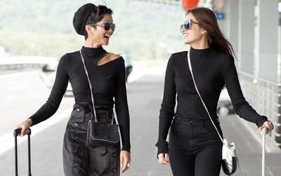 """Kệ cánh stylist """"khẩu chiến"""", Hoa hậu H'Hen Niê cứ """"khoe"""" street style đầu tiên của mình cái đã"""