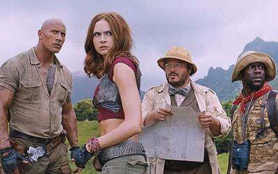"""""""Jumanji: Welcome to the Jungle"""" tiếp tục khiến tân binh bẽ mặt khi dẫn đầu BXH 3 tuần liên tiếp"""