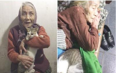"""Clip dễ thương: Bà nội đắp chăn ủ ấm, liên tục nhắc cháu """"đừng động vào nó"""" để mèo cưng ngủ ngon"""