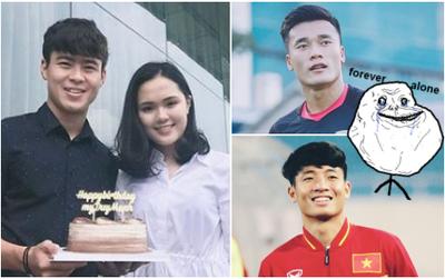 May quá 2 anh Bùi Tiến Dũng vẫn độc thân, còn các tuyển thủ U23 khác thì có bạn gái rồi!