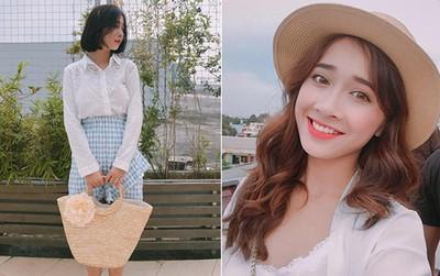 Không chỉ xinh đẹp, cô em gái cực giống Nhã Phương còn có phong cách thời trang rất dễ thương
