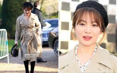 """Dự show Dior, Song Hye Kyo may mà quá đẹp mới đỡ được style """"sến"""" khó tả"""
