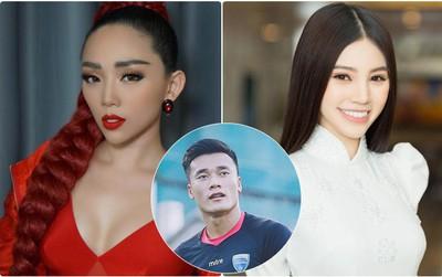 """Tóc Tiên đòi hôn, Jolie Nguyễn """"chơi lớn"""" muốn cầu hôn thủ môn Tiến Dũng sau trận bán kết lịch sử!"""