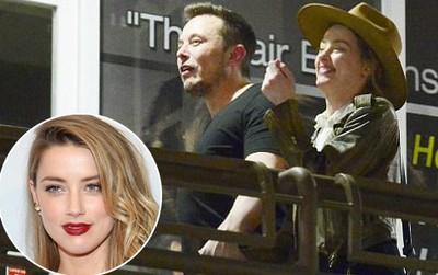 Amber Heard công khai nắm tay tái hợp Elon Musk - đại gia sở hữu hàng trăm nghìn tỷ đồng