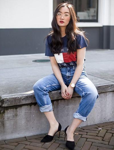 """Cao hơn """"mét rưỡi"""" vẫn mặc đẹp quên sầu, bí quyết blogger gốc Việt Levi Nguyễn là gì mà khiến hàng triệu cô nàng học theo?"""
