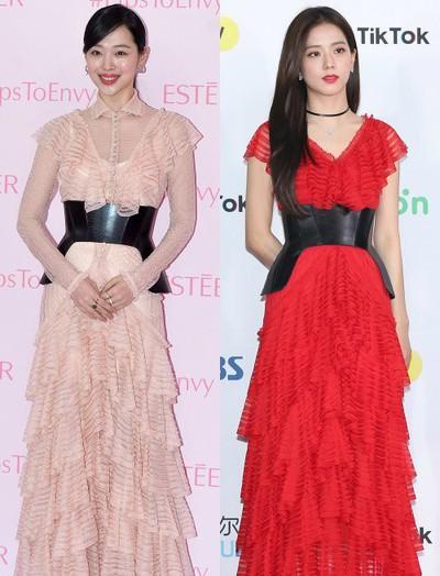 Đẹp bất khả chiến bại như Sulli cũng bị netizen Hàn cho rằng không bằng Jisoo (Black Pink)
