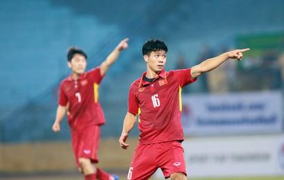 Công Phượng lập cú đúp cho U23 Việt Nam