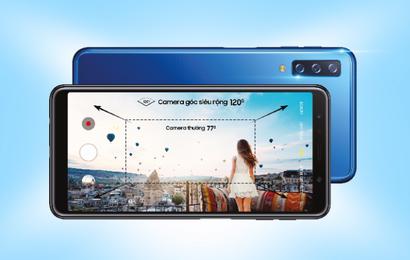 Cơ hội trải nghiệm bộ 3 camera cực chất từ Galaxy A7 dành cho Samfan Sài thành