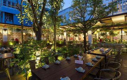 Khám phá khu vườn nhiệt đới bên trong nhà hàng rộng 3.000m2 ở Hà Nội vừa ra mắt