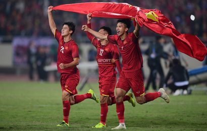 Vô địch AFF Cup 2018, tuyển Việt Nam vẫn tập xuyên Tết dương lịch đá giải châu lục