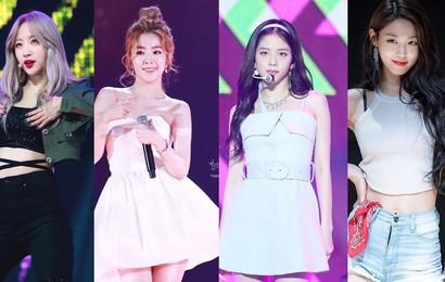 Dàn idol xuất sắc kiêm cả visual lẫn center trong các nhóm nhạc nữ gồm những ai?