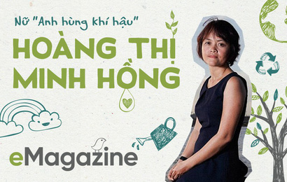 """Nữ """"Anh hùng khí hậu"""" Hoàng Thị Minh Hồng: """"Cai"""" đồ nhựa cũng khó như bỏ thuốc lá!"""