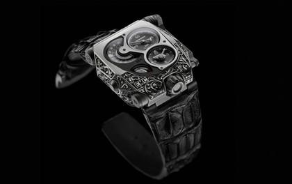 Kiệt tác đồng hồ đeo tay trạm trổ bằng tay cực chất