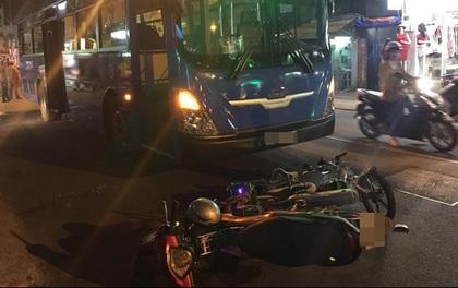 TP. HCM: Va chạm với xe máy ngã xuống đường, nữ sinh lớp 8 bị xe buýt cán nát tay