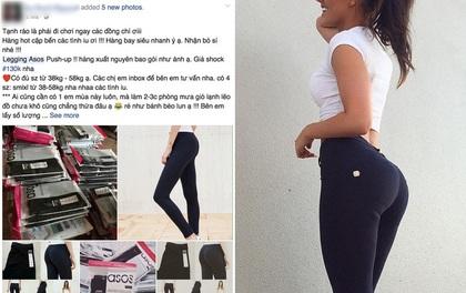 Phái đẹp đổ xô đi mua quần legging giúp nâng đỡ và làm căng tròn vòng 3