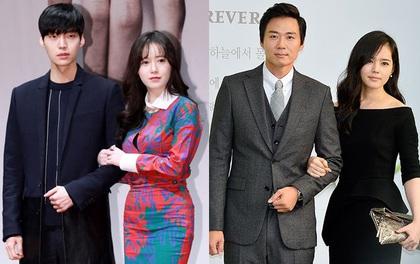 """Những cặp """"phim giả tình thật"""" Hàn Quốc: Người đang hạnh phúc, kẻ đã chia ly"""