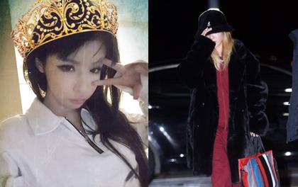 Hình ảnh đối lập của Park Bom và Dara trong lần xuất hiện đầu tiên kể từ sau khi 2NE1 tan rã