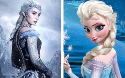 """Emily Blunt chẳng ngại khi bị so với Nữ hoàng băng giá Elsa trong """"Frozen"""""""