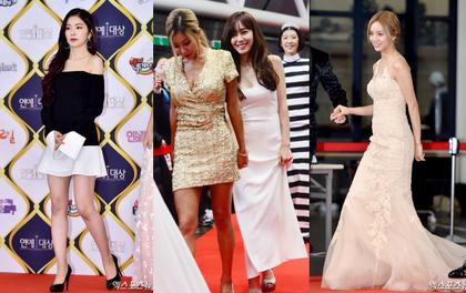 Thảm đỏ KBS Entertainment Awards: Tiffany trở lại rạng rỡ, dàn sao nữ thi nhau khoe vẻ gợi cảm