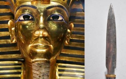 Phát hiện dao găm có nguồn gốc bên ngoài Trái đất trong mộ Pharaoh Tutankhamun