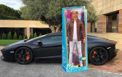 Ronaldo bị chế ảnh châm biếm khó đỡ vì tạo dáng như tượng bên siêu xe Lamborghini