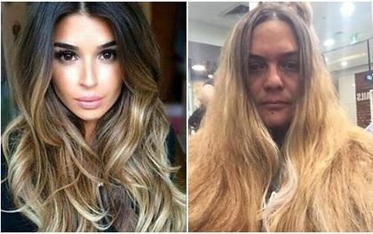 Đi làm đẹp nhưng người phụ nữ này lại nhận được một mái tóc còn hơn cả thảm họa