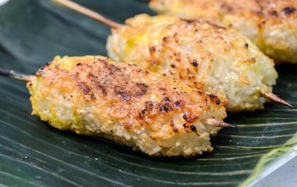 Món ăn đậm vị Thái và Lào nhưng rất dễ nhầm là chuối nướng của Việt Nam