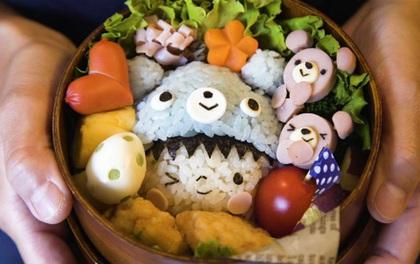 Kyaraben Bento - Nghệ thuật làm cơm hộp ở Nhật Bản, chỉ ngắm thôi chứ không nỡ ăn