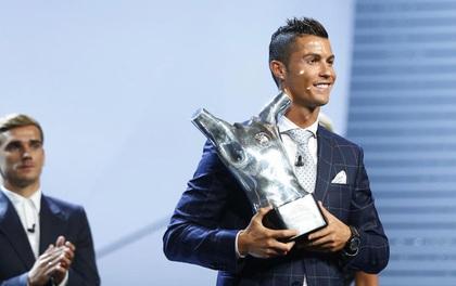 UEFA khai sinh giải thưởng cá nhân mới