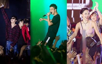 """Dàn sao Việt """"bùng nổ"""" trong đêm nhạc Young Music With Meed với hàng nghìn bạn trẻ"""