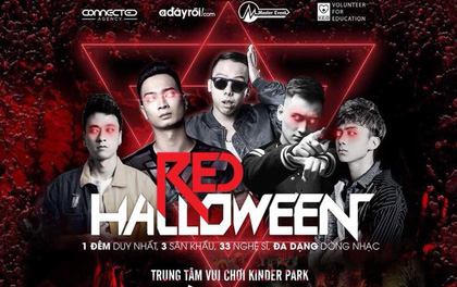 Đi chơi Halloween, nhất định phải đến lễ hội Red Halloween