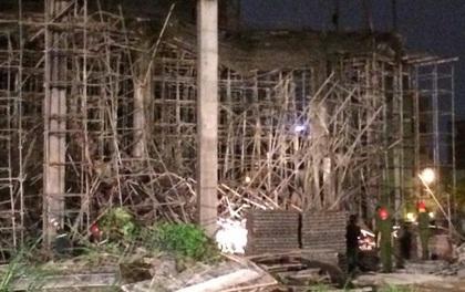 Nguyên nhân ban đầu vụ sập giàn giáo khiến 6 người bị thương ở Đà Nẵng