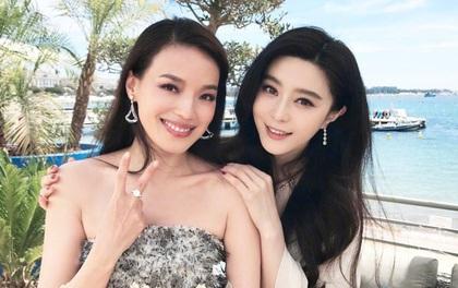 """Hai """"tường thành nhan sắc"""" trong một khung hình: Phạm Băng Băng - Thư Kỳ ai đẹp hơn ai?"""