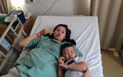 Chiều nay, hot girl Tâm Tít đã hạ sinh con trai thứ 2