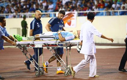 Gãy sống mũi trong trận gặp U22 Việt Nam, cầu thủ Argentina nguy cơ lỡ hẹn U20 World Cup